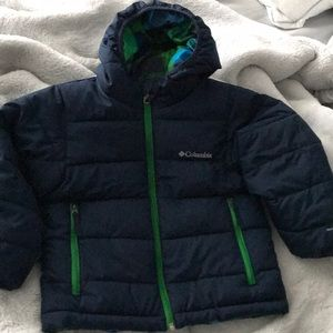 Boys Columbia Puffer Jacket